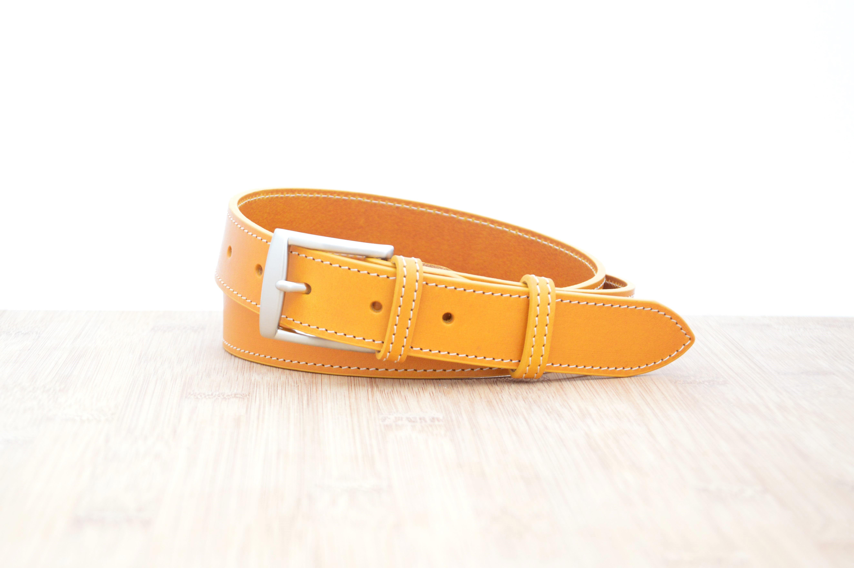 ceinture-cuir-jaune-raffinees-femme-mr and mrs belt – Mr   Mrs Belt ... bc2781aacf1